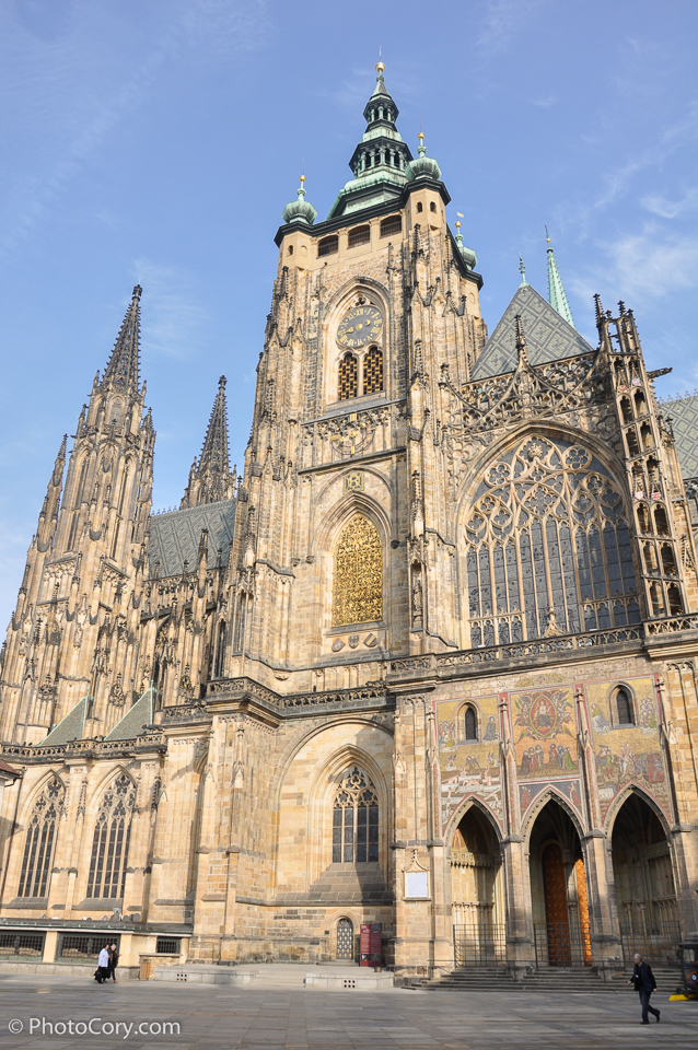 cathedral of st vitus in prague castle