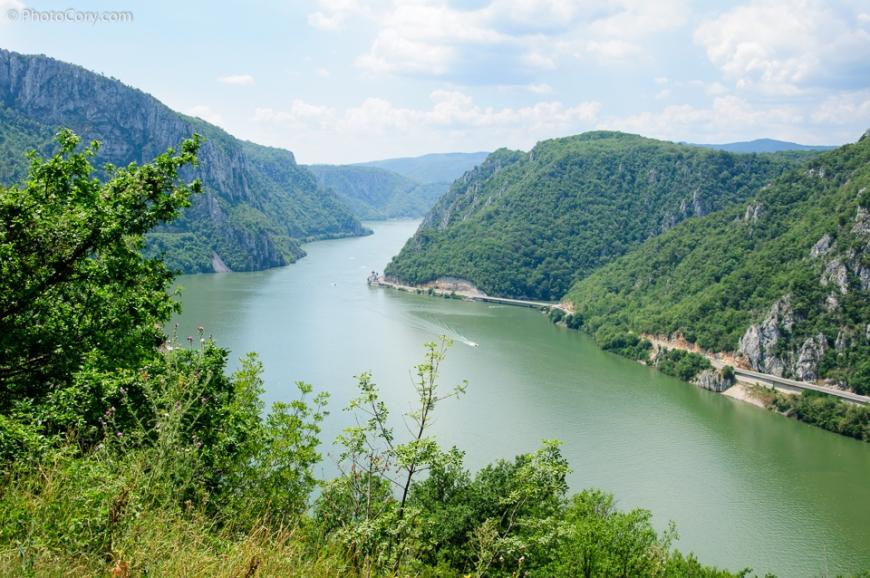 Danube Gorge Iron Gated Defileul dunarii portile de fier Romania Serbia