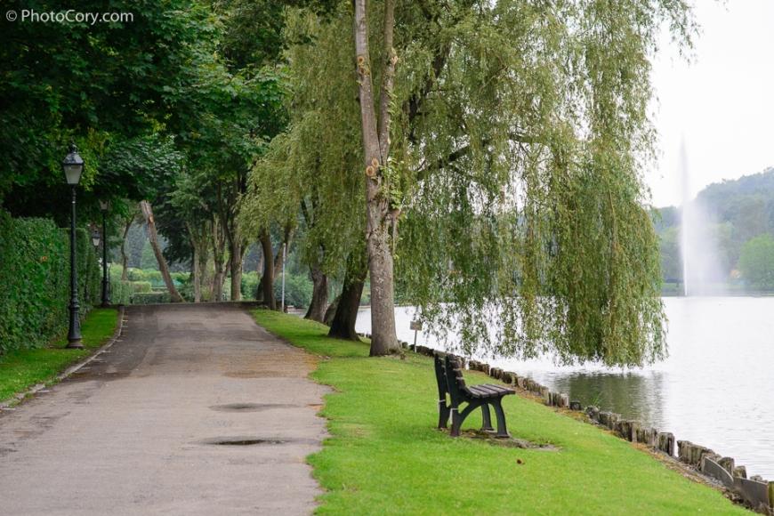 genval lake road belgium