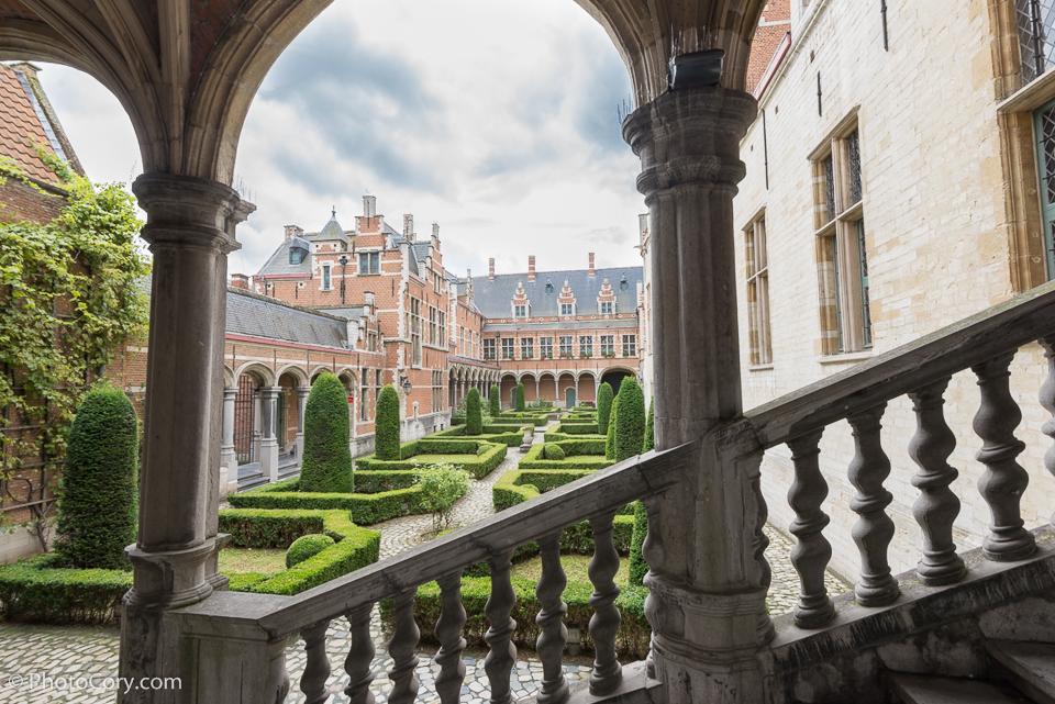 Hof van Savoye Court of Savoy) or Palace of Margaret of Austria Mechelen