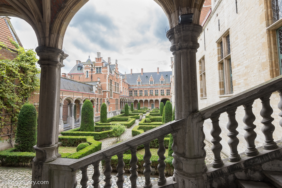 Hof van Savoye Court of Savoy) or Palace of Margaret of Austria Mechelen