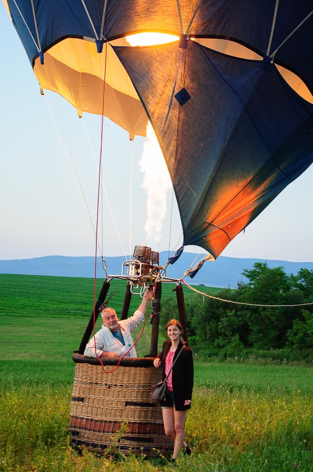landing balloon
