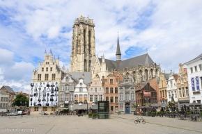 mechelen grote markt belgie, belgium, visit photo