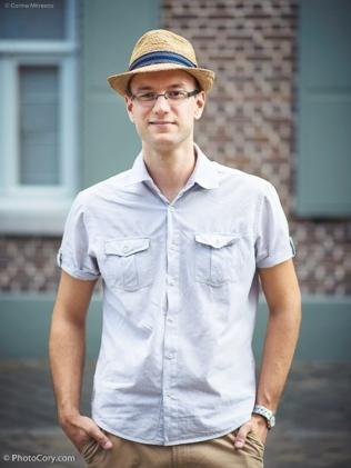 outdoor portrait man hat