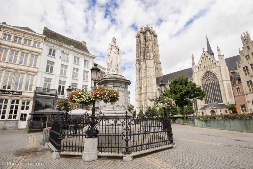 Sint-Romboutskathedraal (St. Rumbold's Cathedral) tower Mechelen