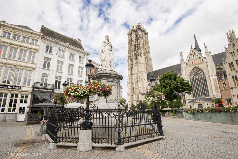 Sint-Romboutskathedraal (St. Rumbold's Cathedral) tower Mechelen
