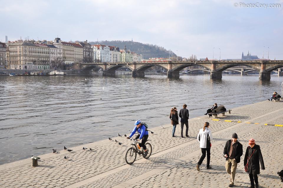vltava praha prague charles karluv most