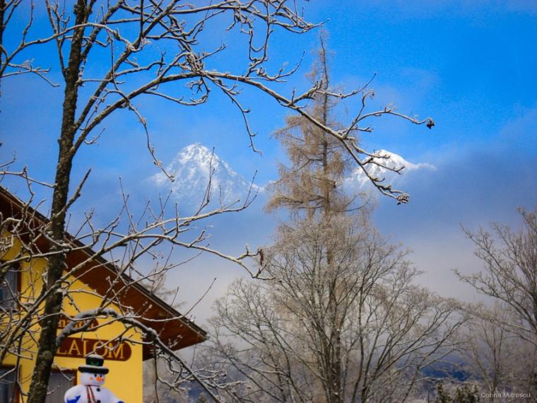 winter high tatras slovakia