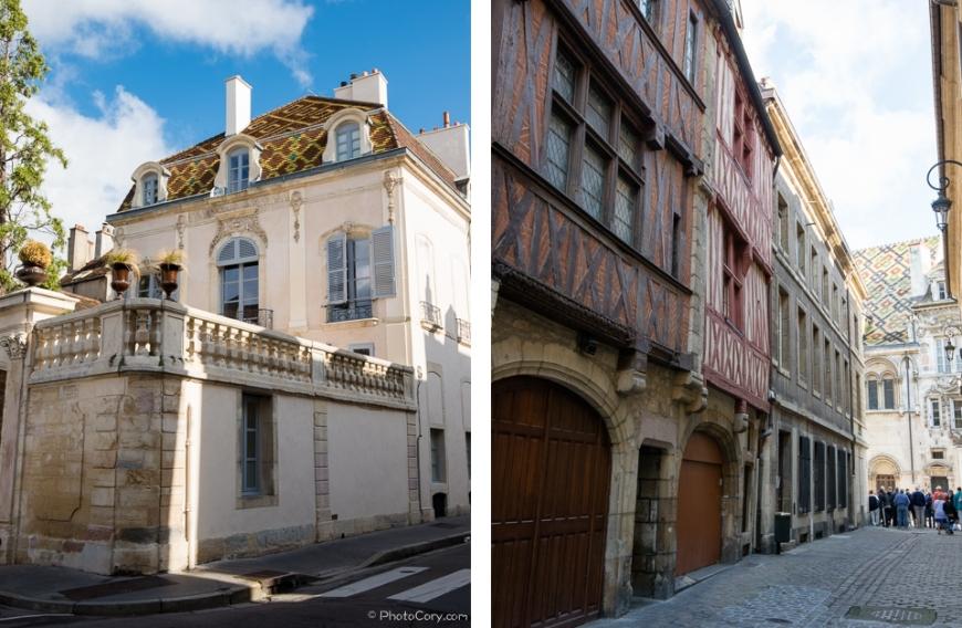 buildings Dijon France