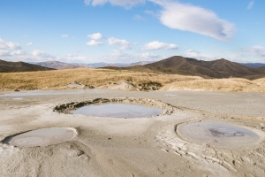 cones mud volcanoes Romania