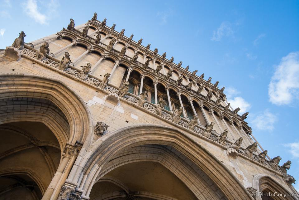 dijon gothic church gargoyles