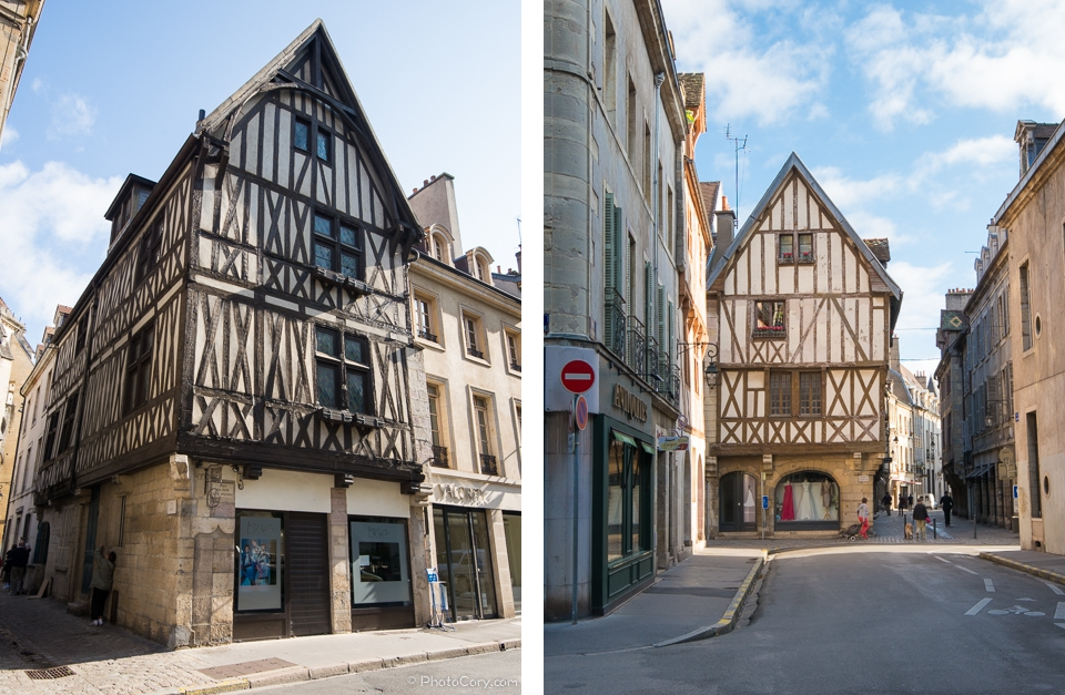 houses in Dijon, France