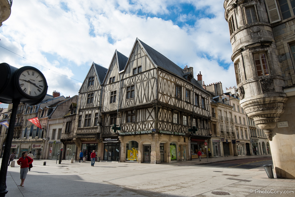pharmacie dijon timbered house