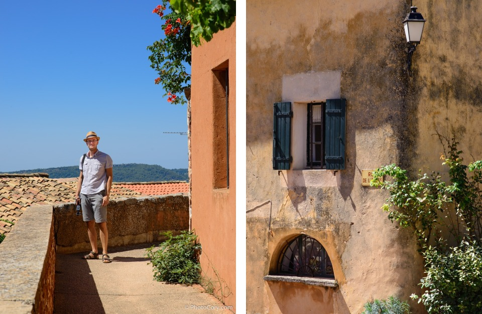 roussillon vaucluse provence france
