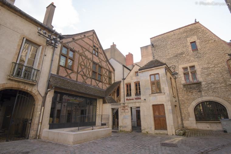 timbered houses dijon france