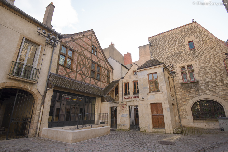 timbered houses dijon france