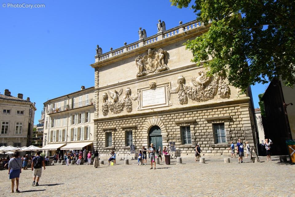 at palais des papes