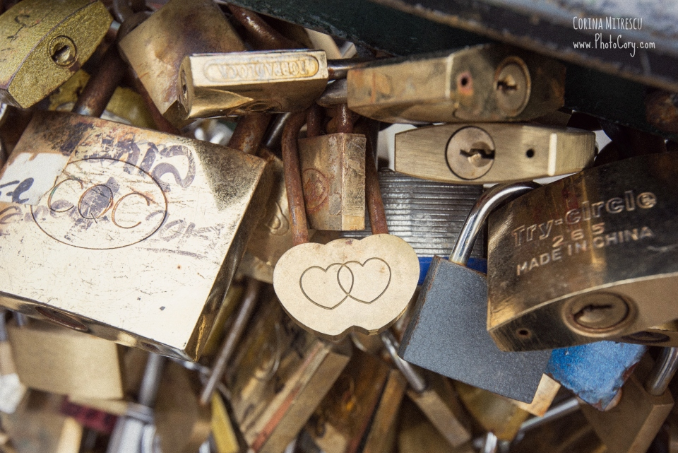 locks on paris bridge