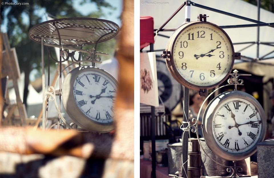 old clocks market