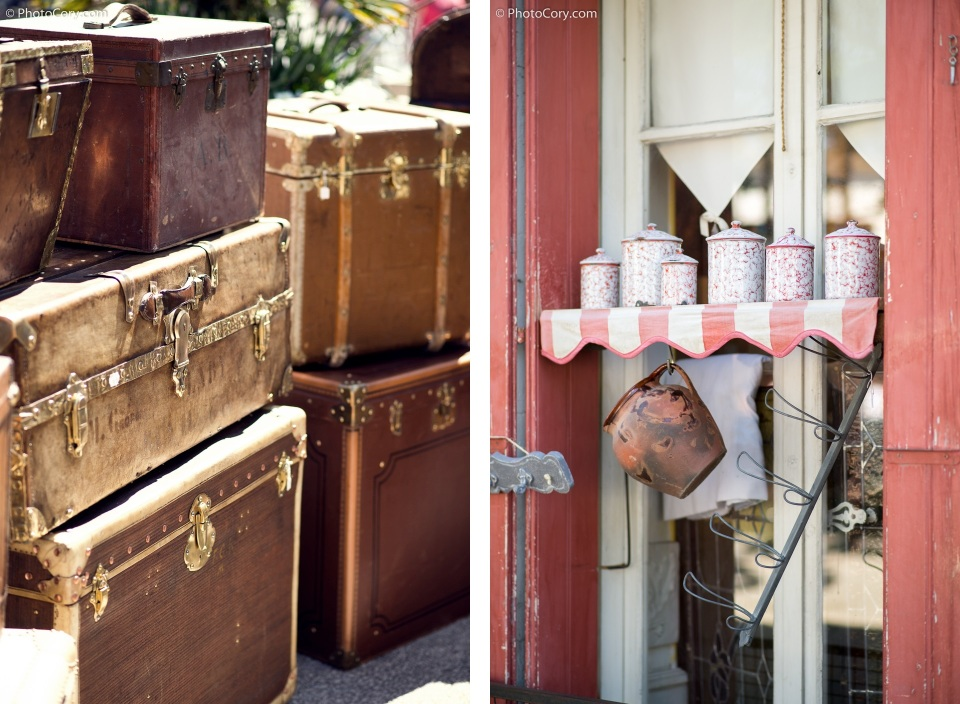 old suitcases market
