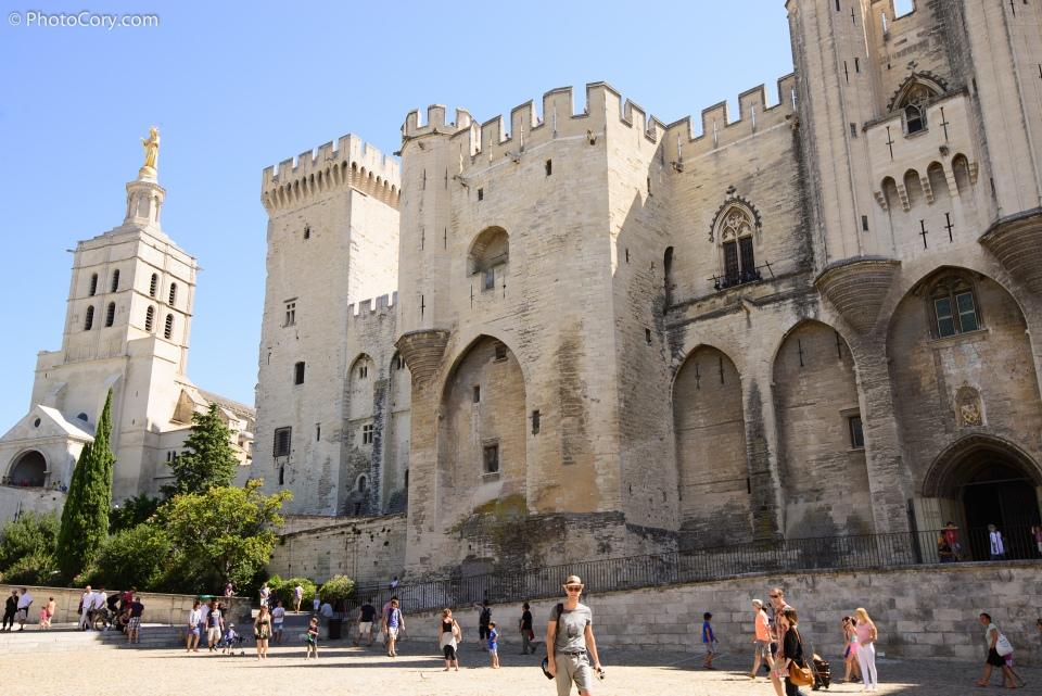 palais papale avignon castle