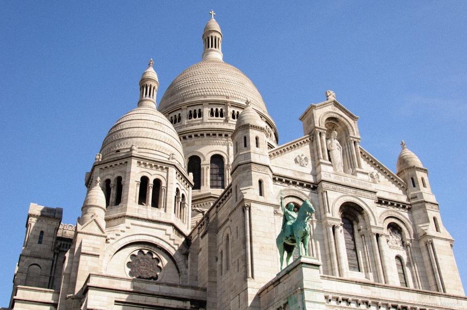 sacre coeur de montmartre catedrale