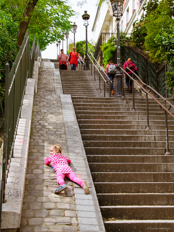 stairs montmartre paris