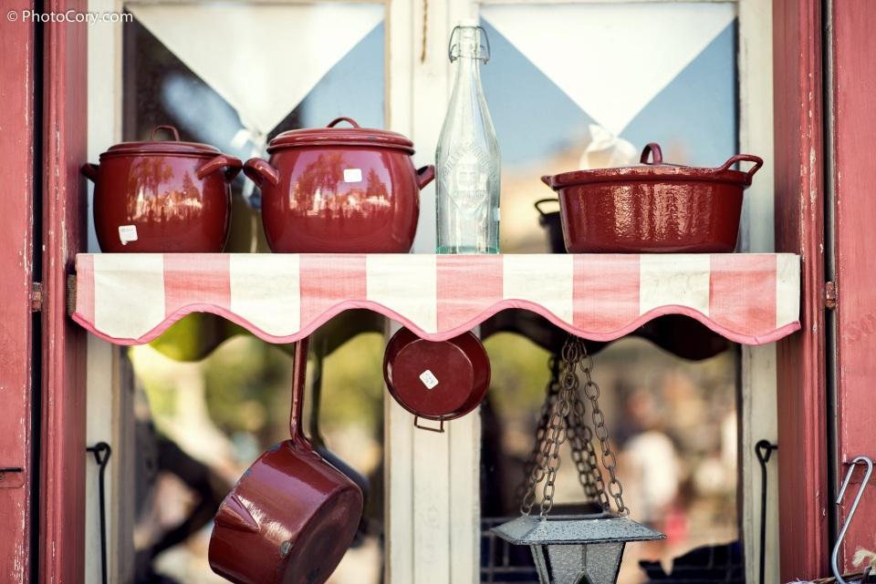 vintage old pots