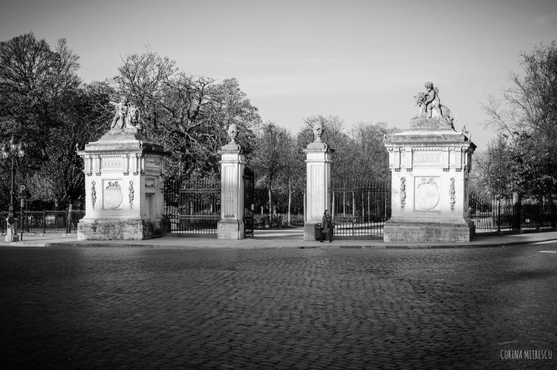 parc de bruxelles, entrance