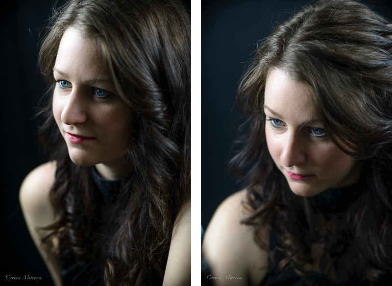 studio portrait woman photography