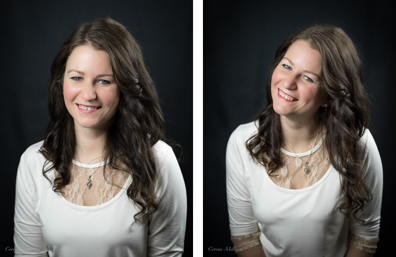 woman portrait photography studio