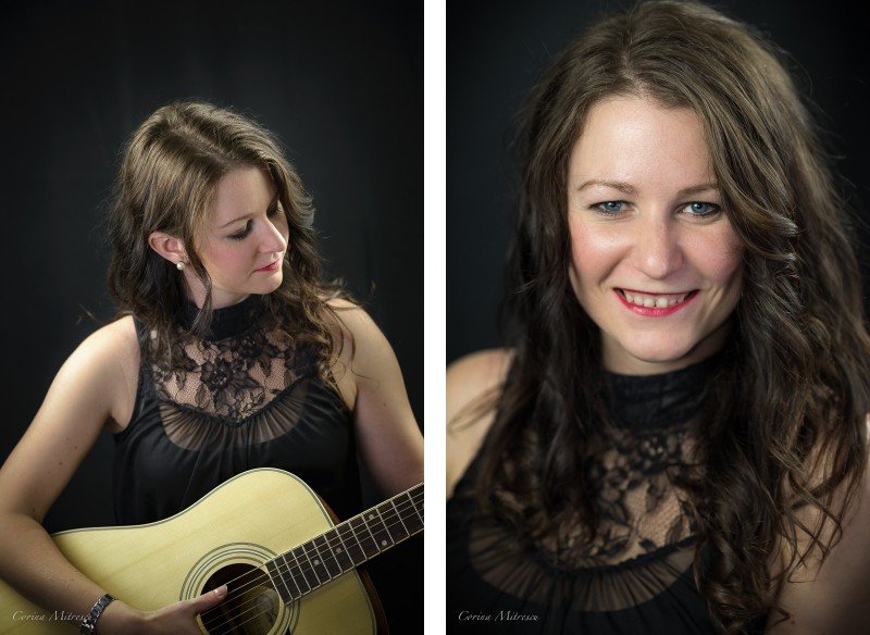 woman studio portrait photography