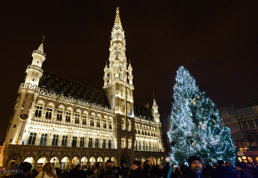 christmas 2014 grand place brussels