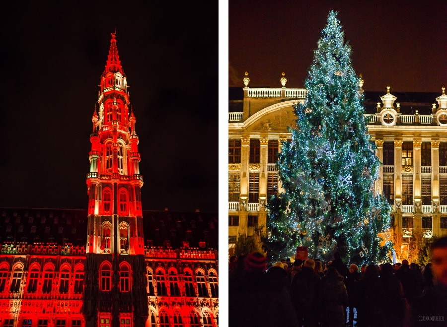 christmas tree light show 2014 bruxelles