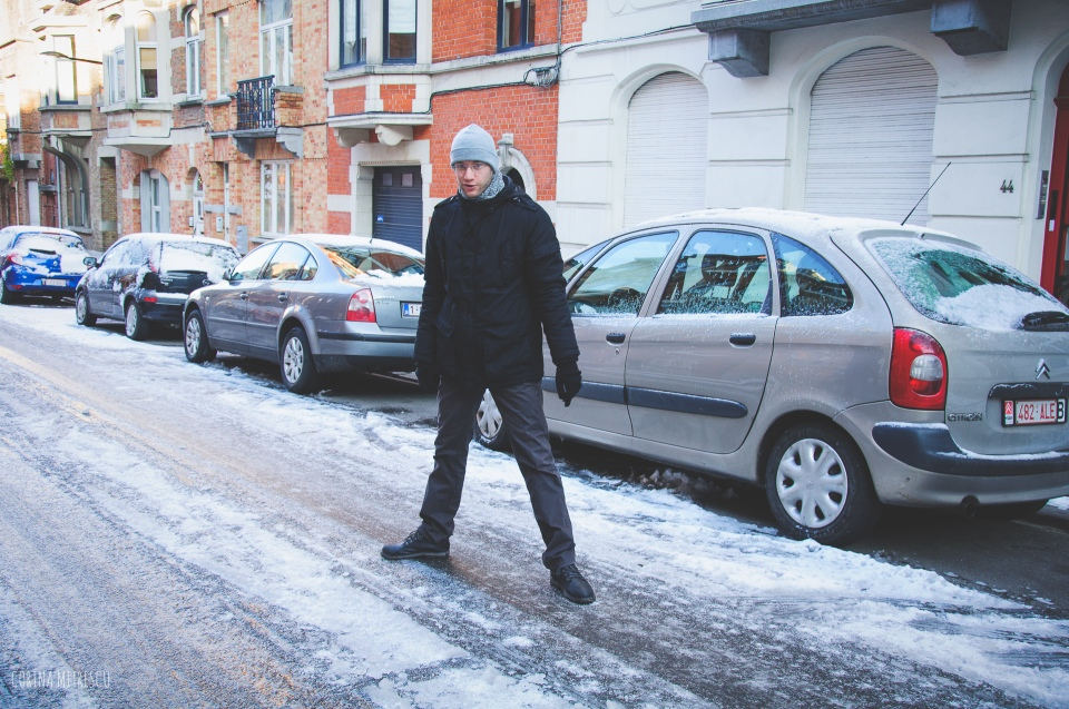 snow brussels december 2014
