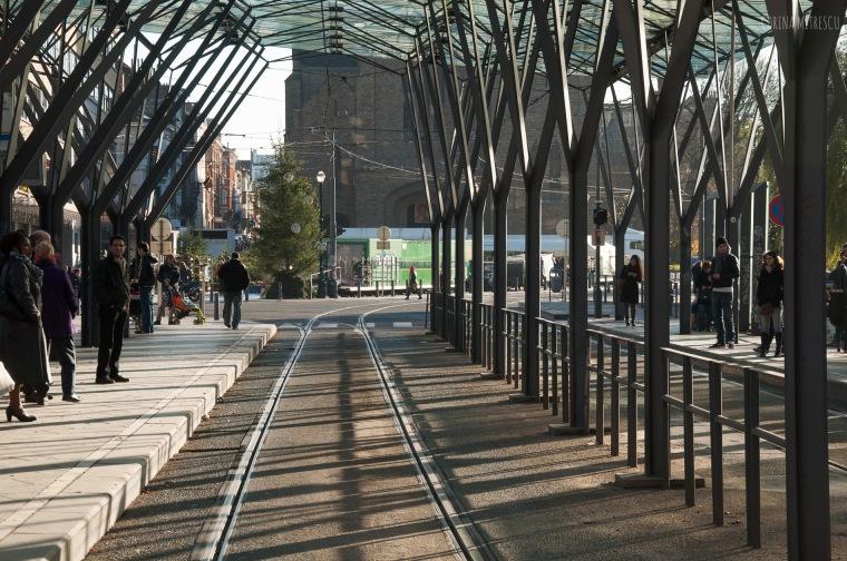 flagey tram station