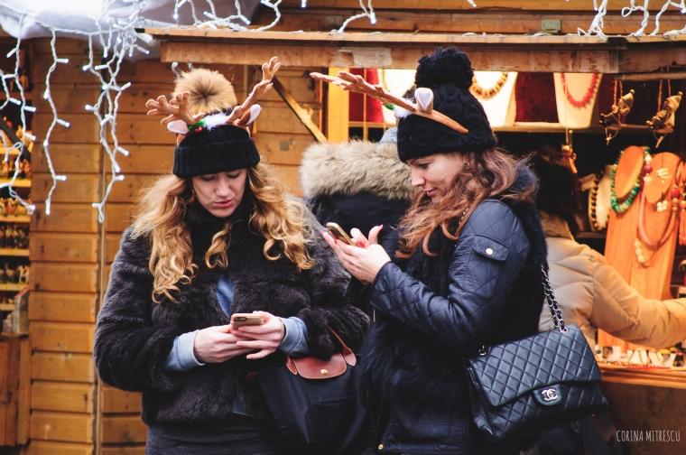 girls reindeer