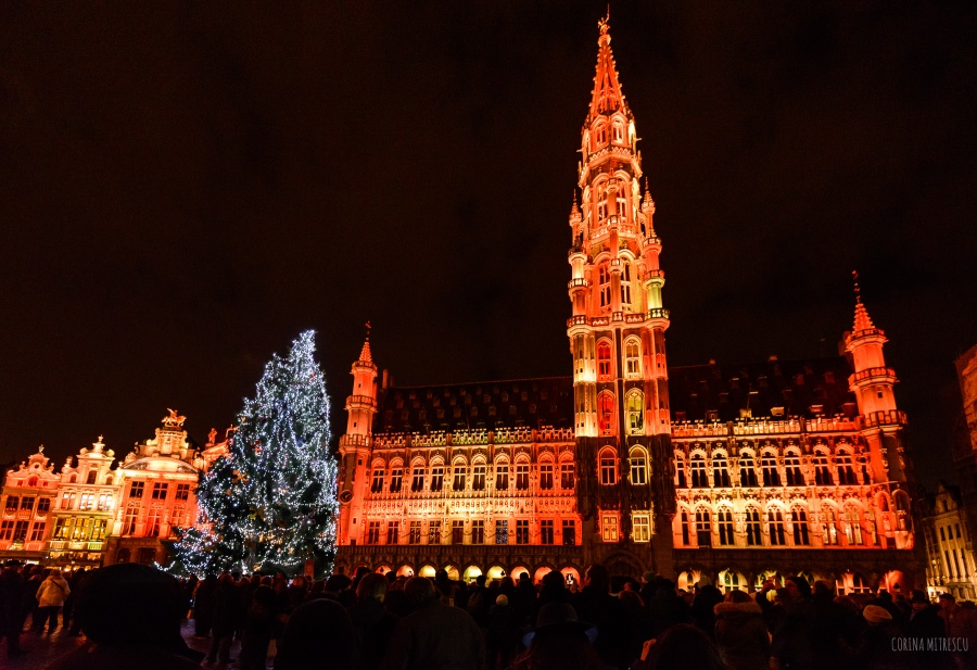 grand place brussels 2014 christmas
