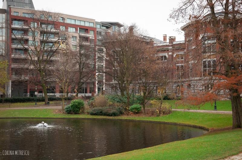 leopold parc in brussels belgium