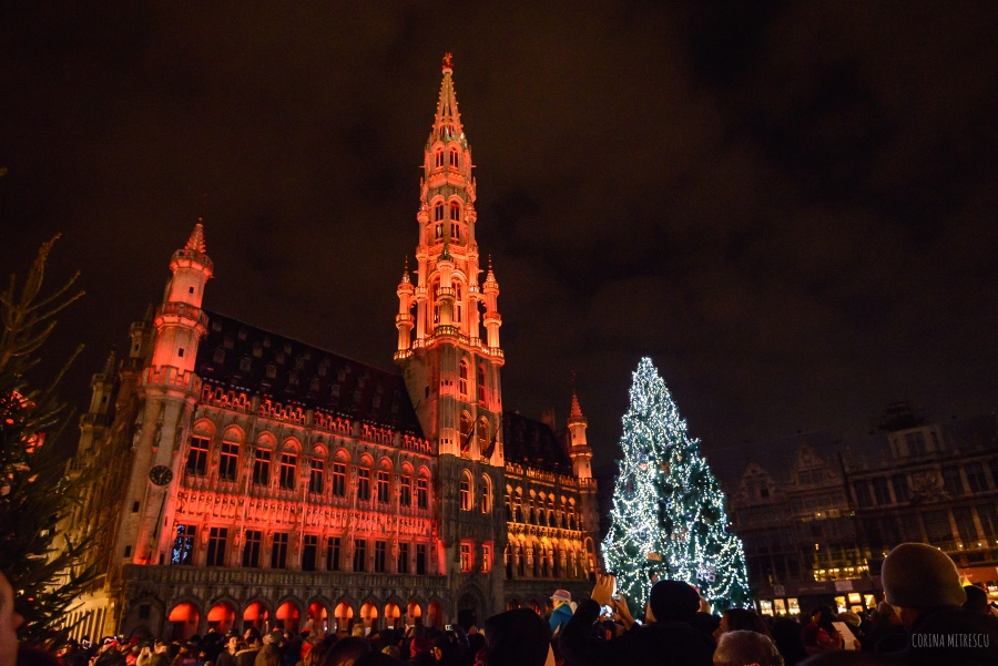 lights brussels christmas 2014