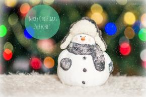snowmam christmas card