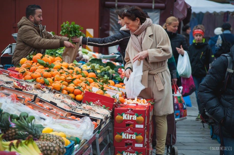 at market in brussels