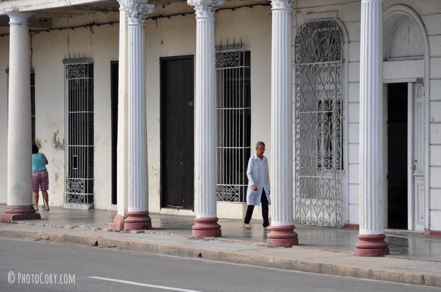 columns cienfuegos cuba