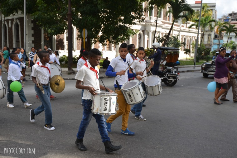 drums jose marti day havana 2015