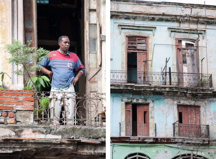 havana building black man
