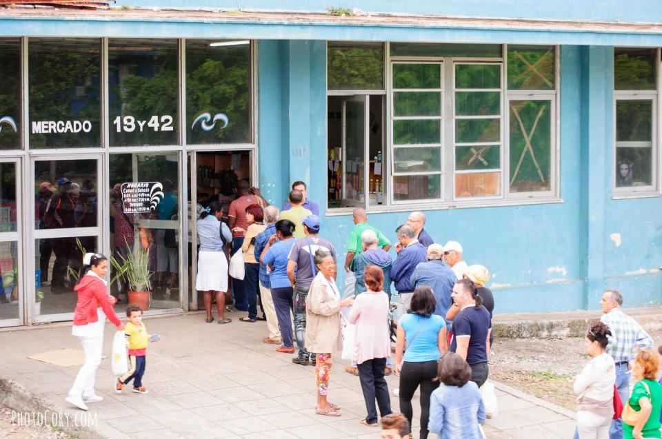 market line cuba