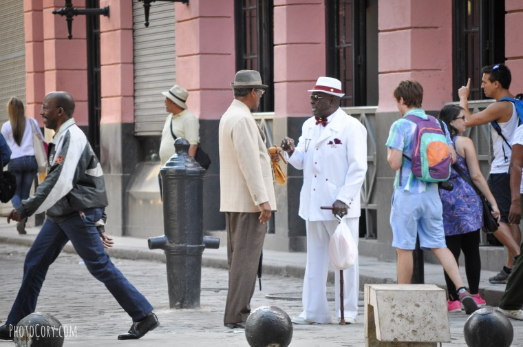 men with suit and hat havana