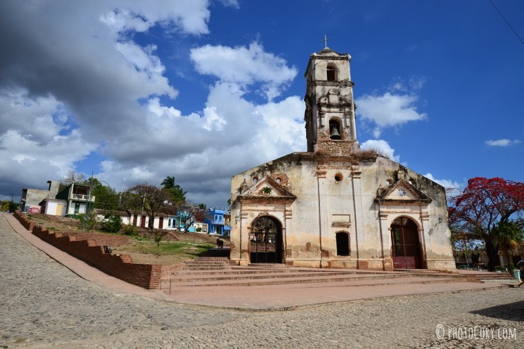 old church in trinidad cuba