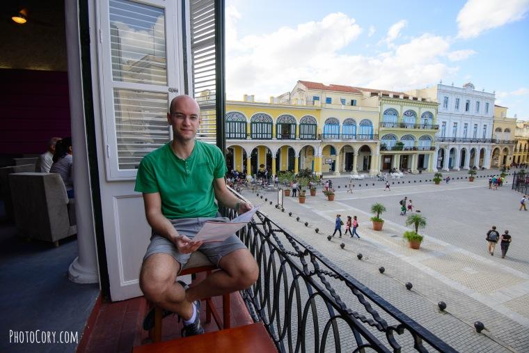 plaza vieja balcony