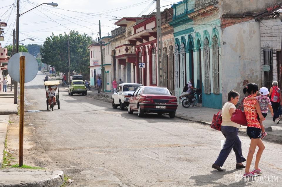 streets cienfuegos in cuba